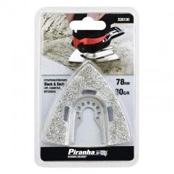 Black & Decker Piranha X26130 Ράσπα Πολυεργαλείου Δέλτα 75mm για Ξύλο και Δομικά