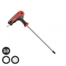 76503G Γωνιακό Κλειδί / Κατσαβίδι Άλεν με Λαβή - 3.0mm