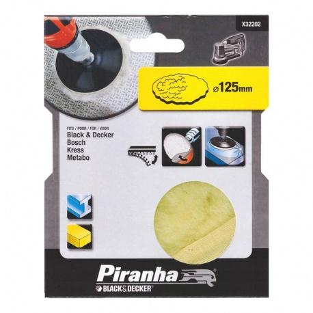 Black & Decker Piranha X32202 γούνα γυαλίσματος 125mm velcro
