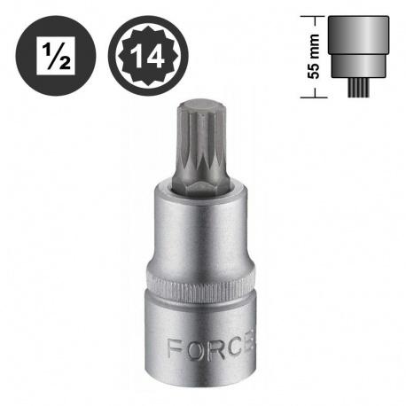 "Force 34805514 πολύσφηνο αρσενικό καρυδάκι 1/2"" - M14"