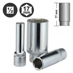 """5457717 - Εξάγωνο Καρυδάκι Βαθύ 1/2"""" - 17mm"""