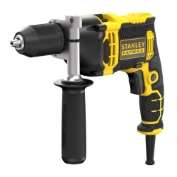 Stanley FMEH750K 750W corded hammer drill in carrying case