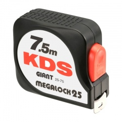 GT25-75 Giant Megalock measuring tape 25mm - 7.5m