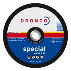 Dronco AS 30 S-BF δίσκος κοπής μετάλλου 3.0 x 230mm