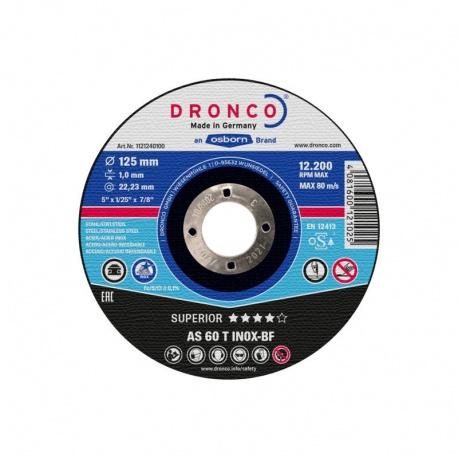 Dronco AS 60 T INOX-BF Superior inox cutting disc 1.0 x 115mm