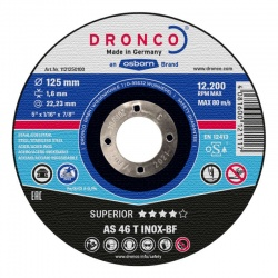 Dronco AS 46 T INOX-BF Superior inox cutting disc 1.9 x 230mm