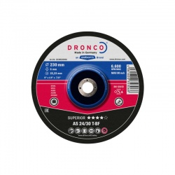 Dronco AS 24/30 T-BF Superior metal grinding disc 6.0 x 115mm