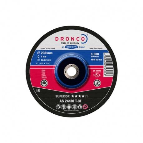 Dronco AS 24/30 T-BF Superior δίσκος λείανσης μετάλλου 6.0 x 115mm