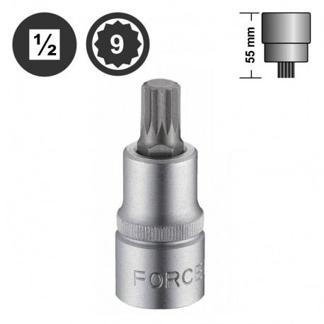 "Force 34805509 πολύσφηνο αρσενικό καρυδάκι 1/2"" - M9"