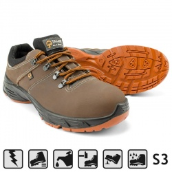 Talan A117 παπούτσια ασφαλείας Styler Brown S3