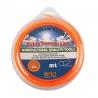 Νάυλον νήμα χορτοκοπτικών στρόγγυλο πορτοκαλί, 3.0mm x 56m