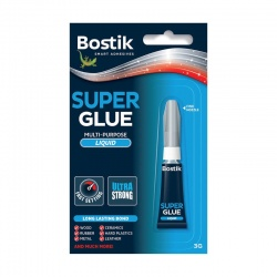 Bostik κόλλα στιγμής super glue liquid 3g