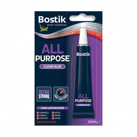 Bostik κόλλα γενικής χρήσης All Purpose Clear Glue 20ml