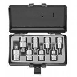 "40811 1/2"" Spline Socket Set - 8 pcs"