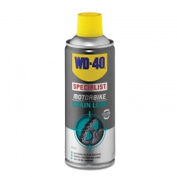 WD-40 SPECIALIST MOTORBIKE CHAIN LUBE Spray 400ml