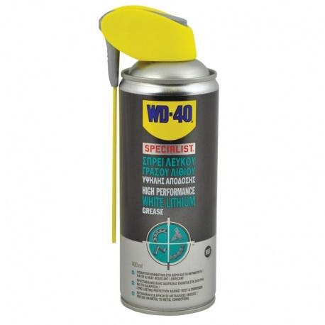 WD-40 SPECIALIST WHITE LITHIUM GREASE Spray 400ml