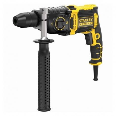 Stanley FMEH1100K 1100W corded hammer drill in case