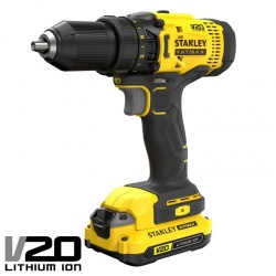 SFMCD700C2K Cordless Drill 18V - V20 Li-Ion 1.5Ah 2 Battery Set
