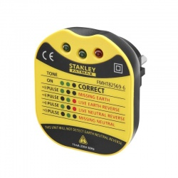Stanley FMHT82569-6 ελεγκτής (tester) πρίζας σούκο