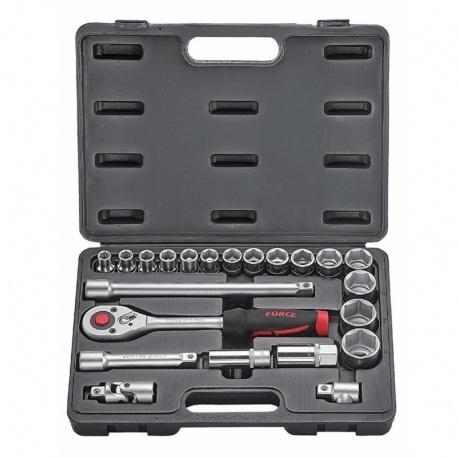 Force 4223 1/2'' 22 pcs socket set