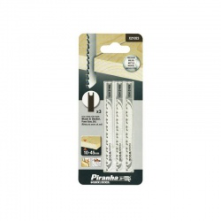 Black & Decker X21023 - Piranha Jigsaw Blades for Wood - 3 pcs
