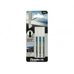 Black & Decker X22013 - Piranha Jigsaw Blades for Metal - 3 pcs