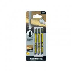 Black & Decker X20003 - Piranha Jigsaw Blades for Wood - 3 pcs