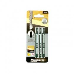 Black & Decker X21203 - Piranha Jigsaw Blades for Wood - 3 pcs