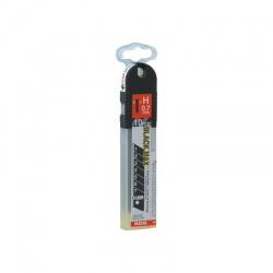 HB-10BH Λάμες Μαχαιριών Σπαστές Μαύρες 25 x 0.7mm - 10τεμ