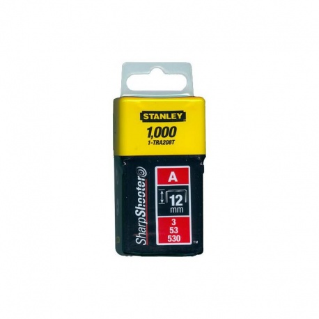 "Stanley Heavy Duty Staples 8 mm 5//16/"" 1000 1-TRA705T"